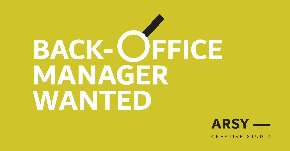Back-office manager
